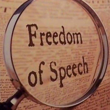 speech first amendment to the united The first amendment to the united states constitution, relating to the rights to free speech, a free press, freedom of assembly, freedom to petition, and free.